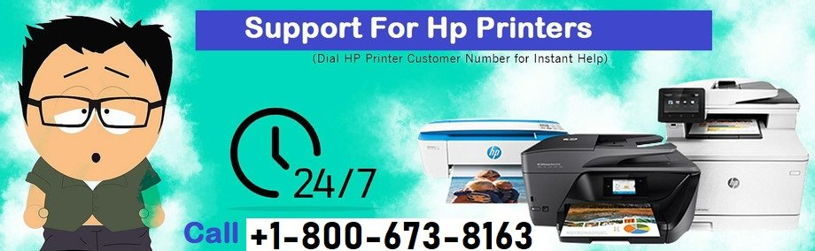 Hp Printers Support Number Dial +1-800-673-8163