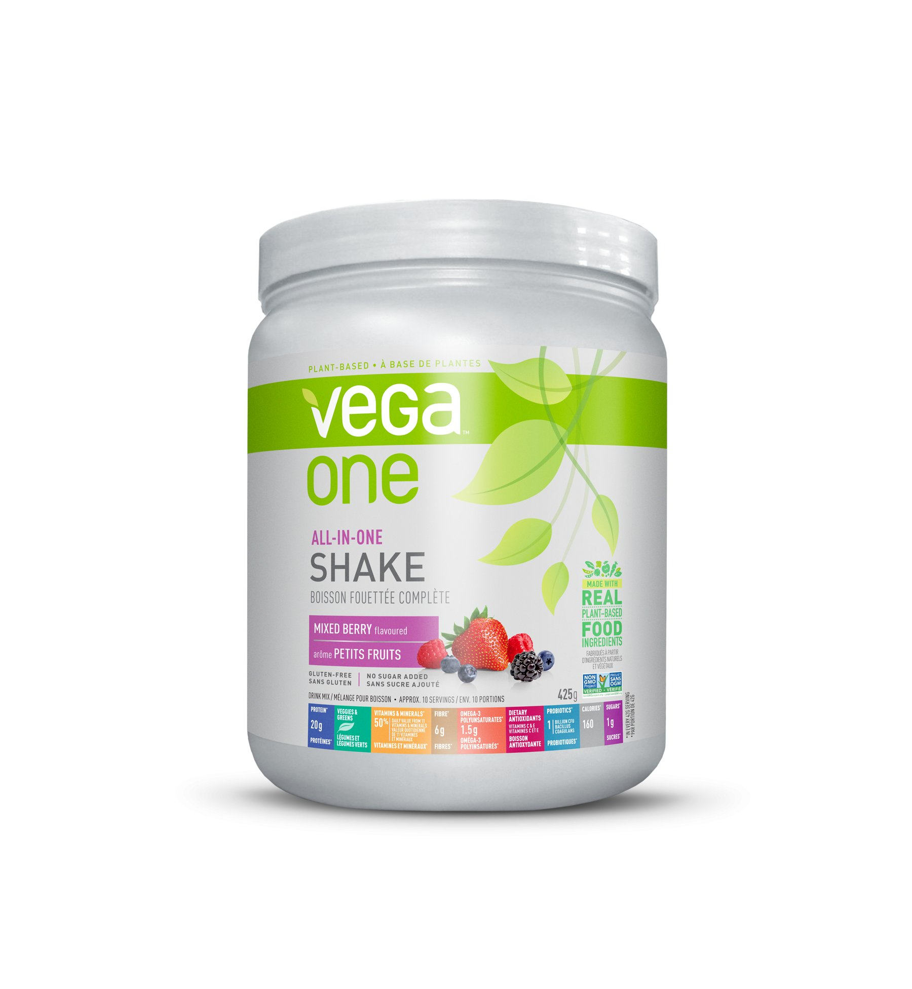 Increase The Protein You Get Every Day With Vega One All In One Nutritional Shake Mixed Berry To Lose Weight Fast